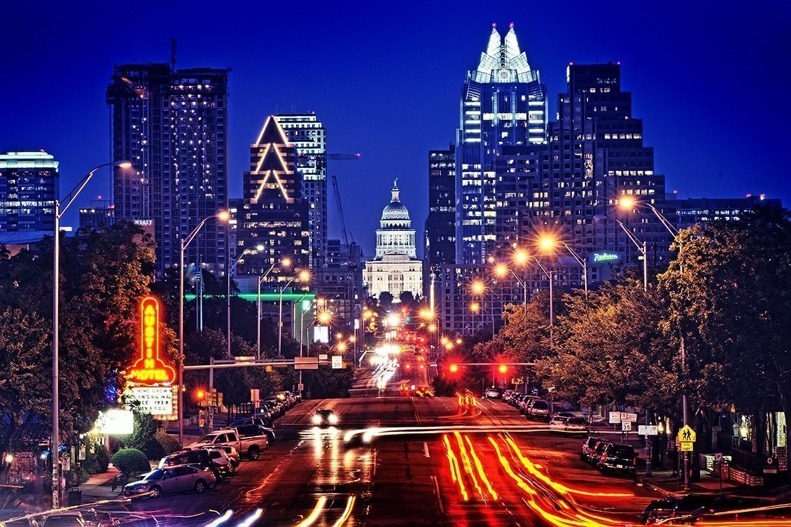 Photo of downtown Austin