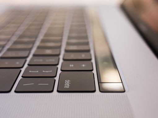 MacBook keyboard image