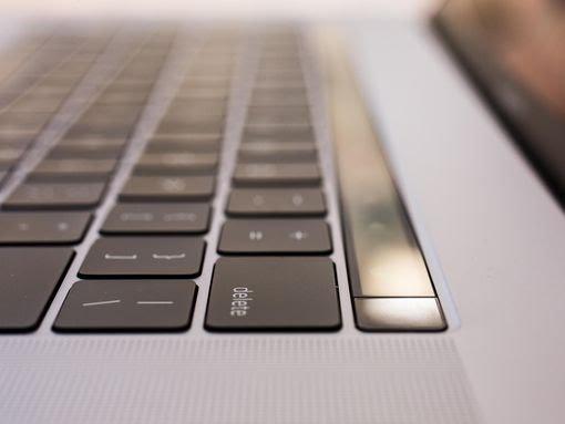 MacBook keyboard image