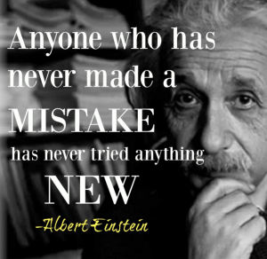 Einstein quote on failure